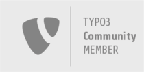 Logo for TYPO3 Association Community Member