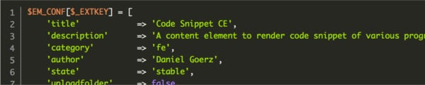 Image for Blog Post Code Snippet Content Element